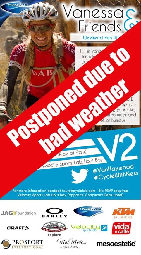 V2 postponed